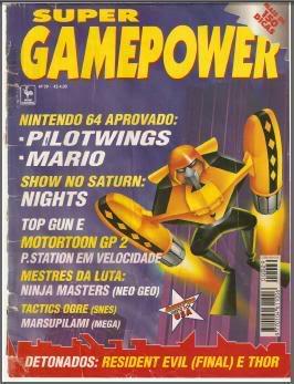 Revistas de videogame digitalizadas SGP29