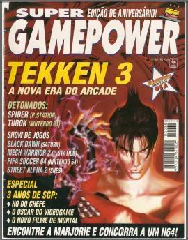 Revistas de videogame digitalizadas SGP38