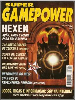 Revistas de videogame digitalizadas SGP40