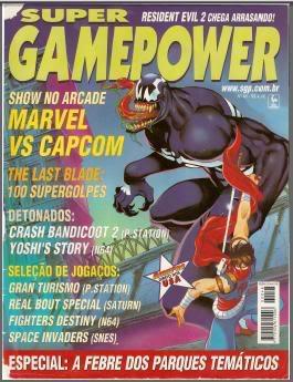 Revistas de videogame digitalizadas SGP48