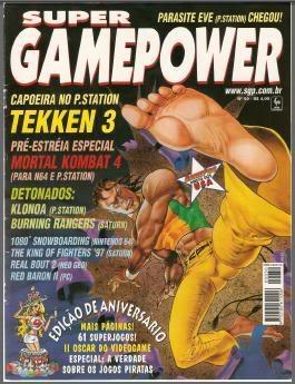 Revistas de videogame digitalizadas SGP50