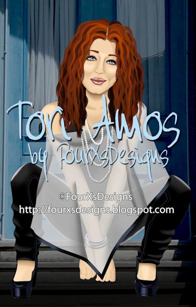 Tori Amos- 4xs Exclusive ToriAmos-ByFourXsDesignsExclusivePV