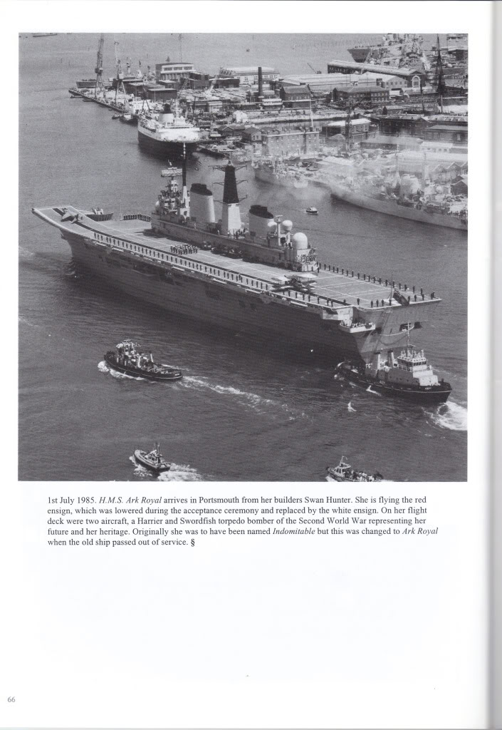 HMS Invincible and the Malvinas War in 1982 - Page 4 HMSArkRoyalR07