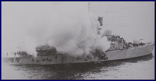 HMS Invincible and the Malvinas War in 1982 - Page 3 HMSSheffield
