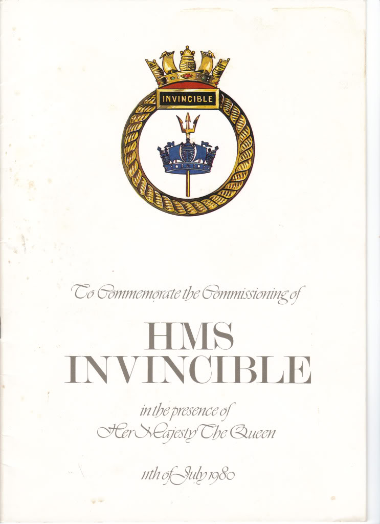 HMS Invincible and the Malvinas War in 1982 - Page 4 Vincycommissioningbook