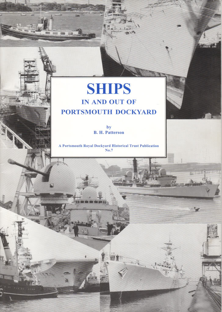 HMS Invincible and the Malvinas War in 1982 - Page 4 ShipsinandoutofPortsmouthDockyard