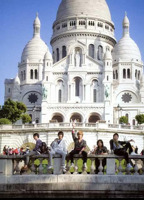 DBSK in Paris *¬* BonjourParisIIMontmartre11