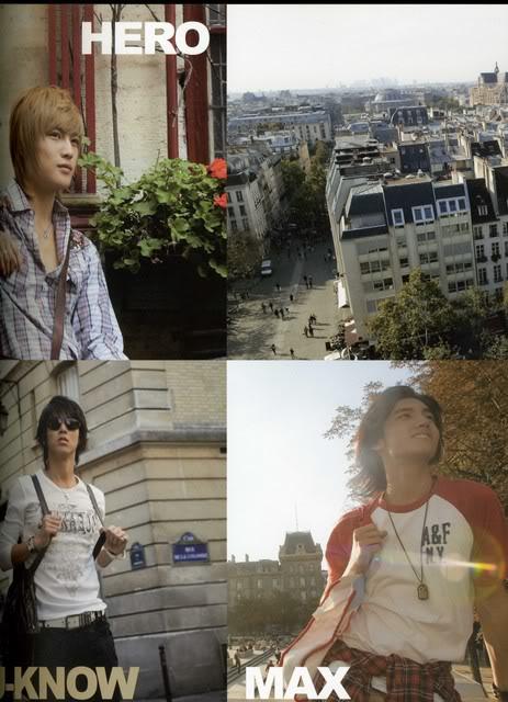 DBSK in Paris *¬* BonjourParisIIMontmartre15