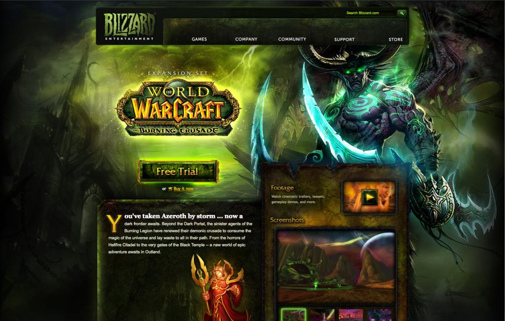 Layout - World of Warcraft TBC
