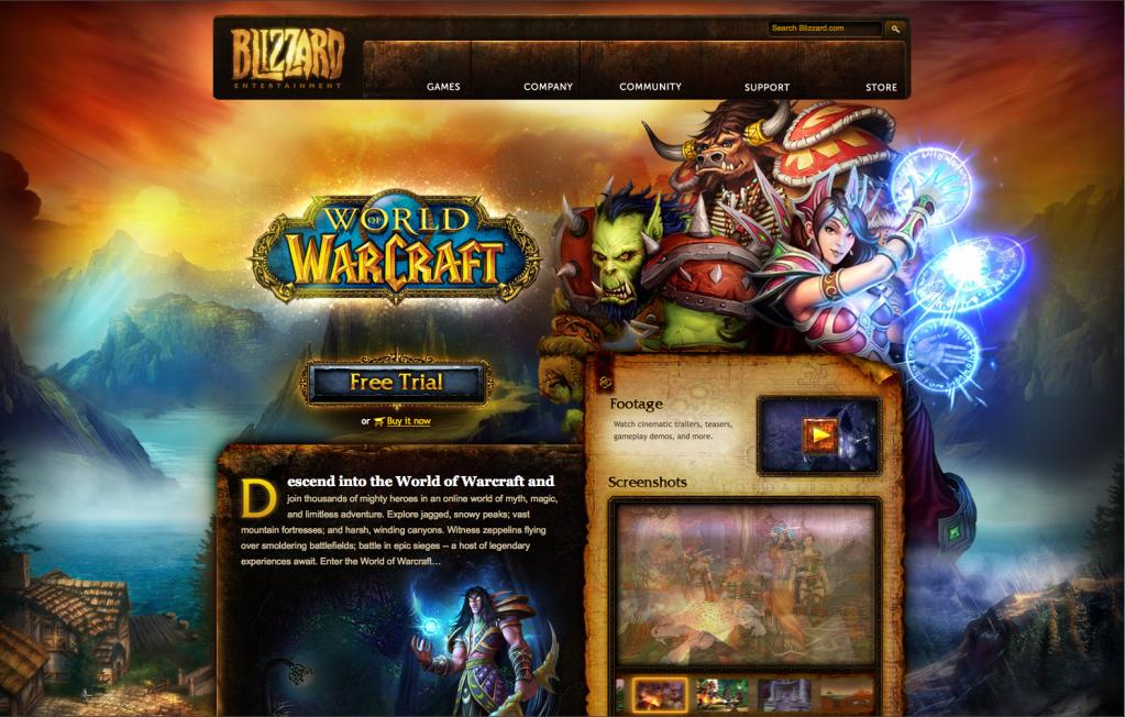 Layout - World of Warcraft Vanilla