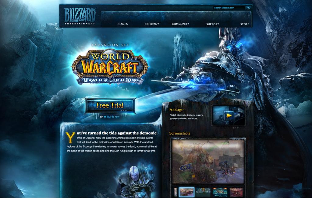 Layout - World of Warcraft Wotlk