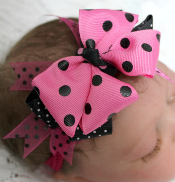 Boutique Bow Headbands 011a