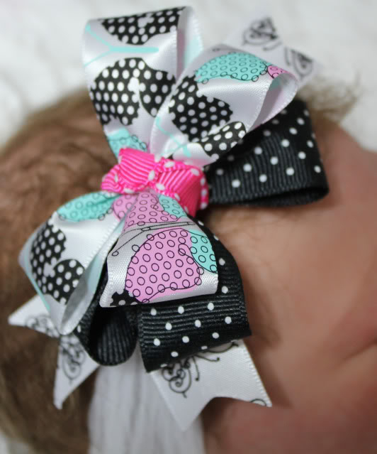 Boutique Bow Headbands 013a