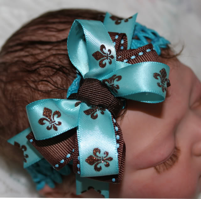 Boutique Bow Headbands 015a