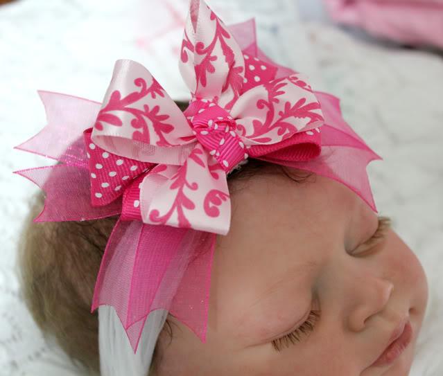 Boutique Bow Headbands 019a