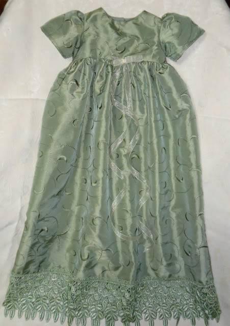 Sold! Long Green Dress Still Available 022