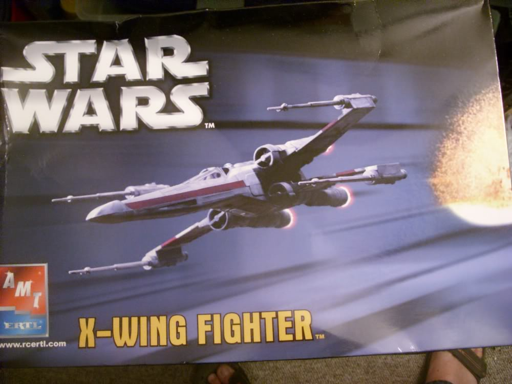 X-Wing Fighter Star Wars, 1/48 FineMolds Amt-x-43-00