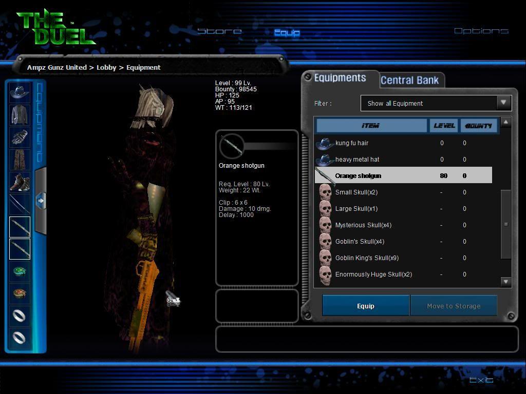 Bonus Wepons and sets& maps V2 For Deadly Gunz107