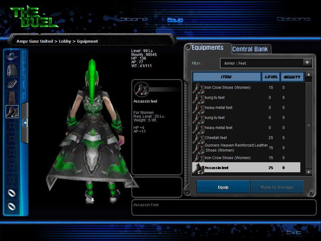 New Tax GunZ Sets For V2 From DeadlyNexon. Gunz115