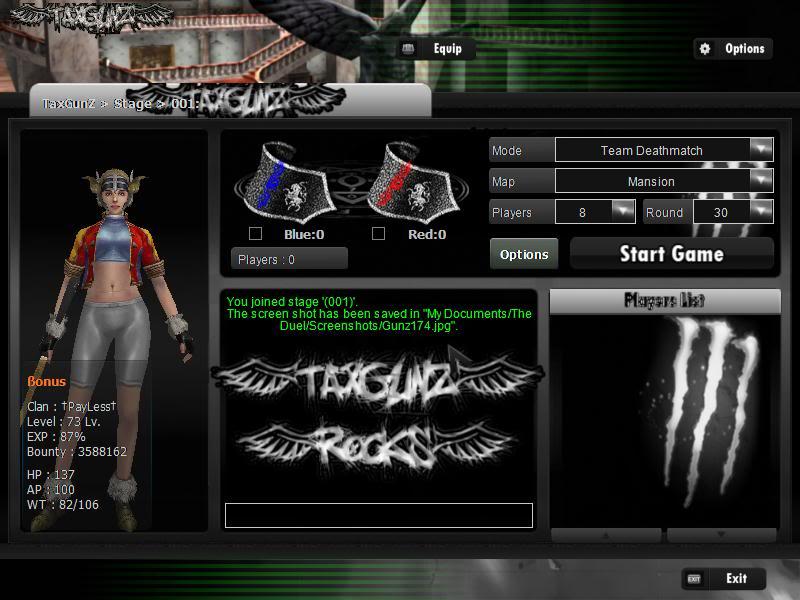New Tax Gunz Skins For In Game Bonus Gunz175