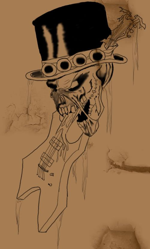 Mikko's Sketchpad - Page 2 Tattoo_skull_guitar