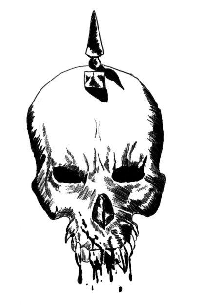 Mikko's Sketchpad VampireSkull