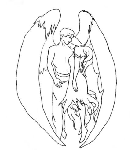 Mikko's Sketchpad - Page 3 Angel-tattoo-design-6929