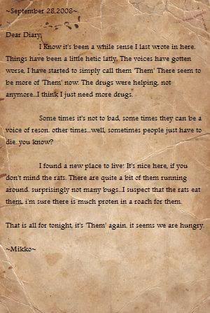 Mikko's Diary Diary