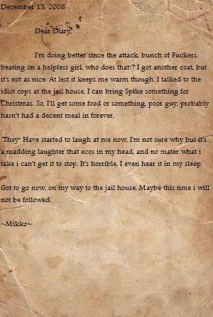 Mikko's Diary Page15