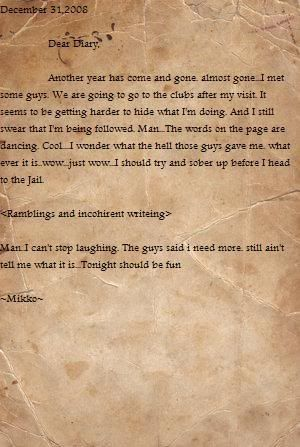 Mikko's Diary Page17