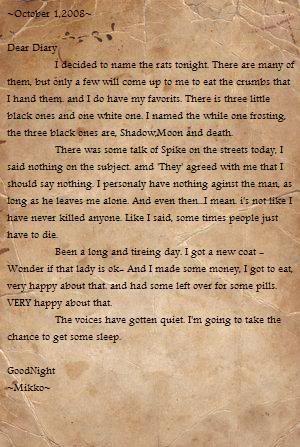 Mikko's Diary Page2-1
