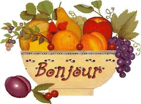 des bonjour Bjr