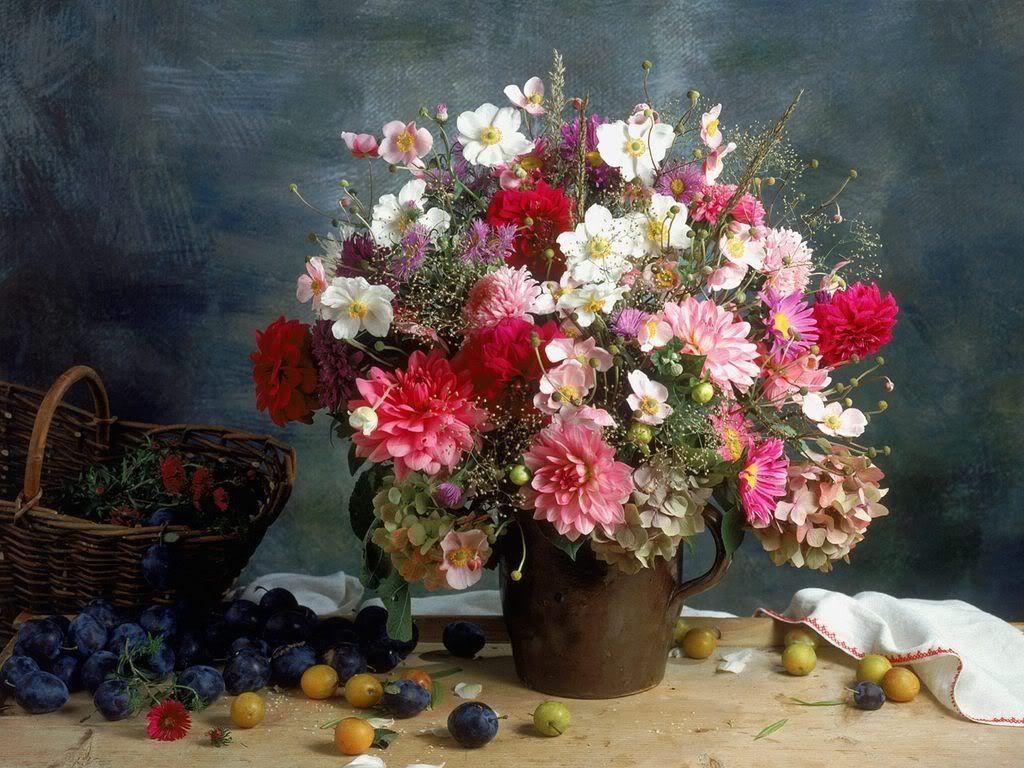 des fleurs, méli-mélo AsterBouquet