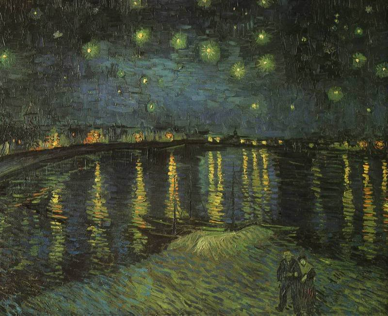 the last person to post here, wins Gogh