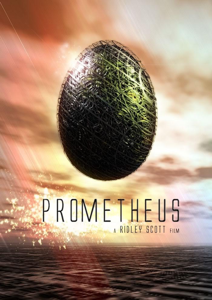 Carteles no oficiales de Prometeo (en ingles) hechos por mi Prometheusridleyscottalien5