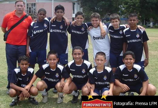 Futbol Menor y Amateur AtlticoVenezuelaSub-14GrupoB