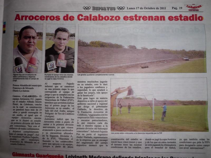 Calabozo | Estadio Alfredo Simonpietri |  CIMG1496
