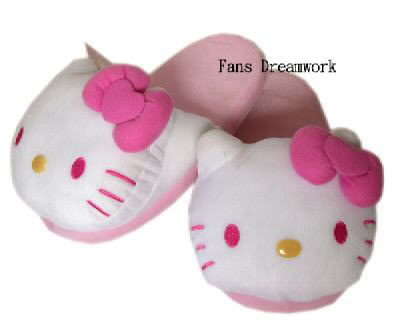 the party is for you ( Lucy's Birthday) Hello-kitty-pantuflas