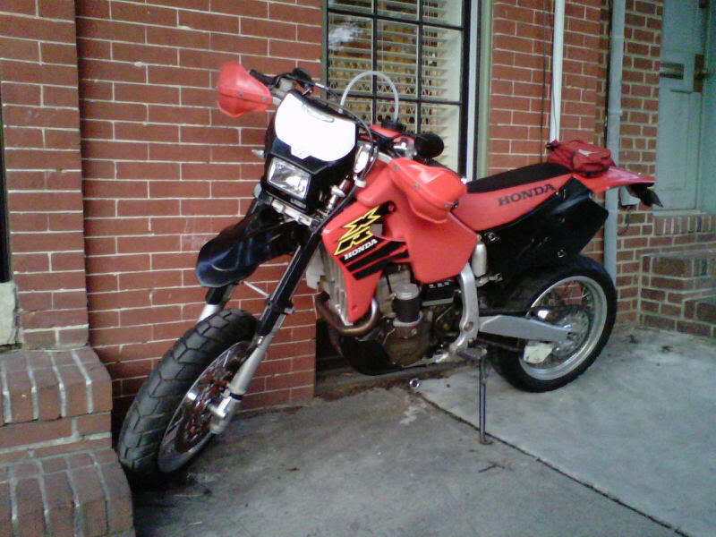 STILL trying to get her legal! XR650Rhome