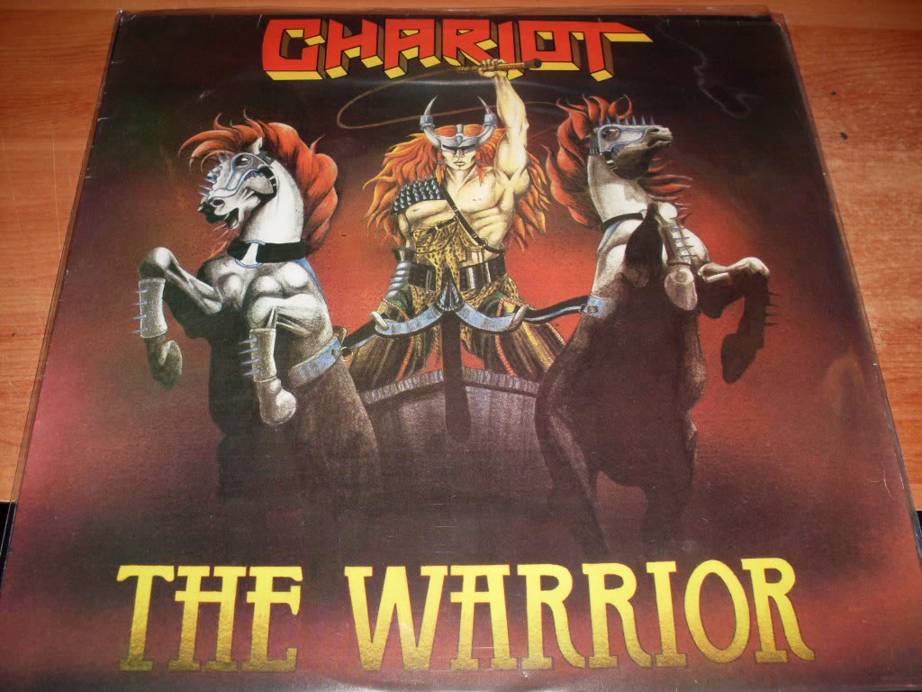 CHARRIOT The Warriors (1984) Hard Rock Angleterre ImagemFGR068