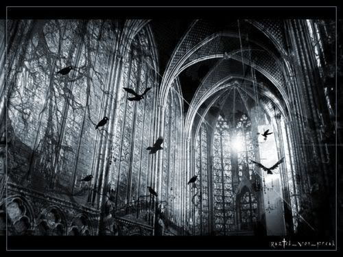 Hollók menedéke GothicChurch-Crows