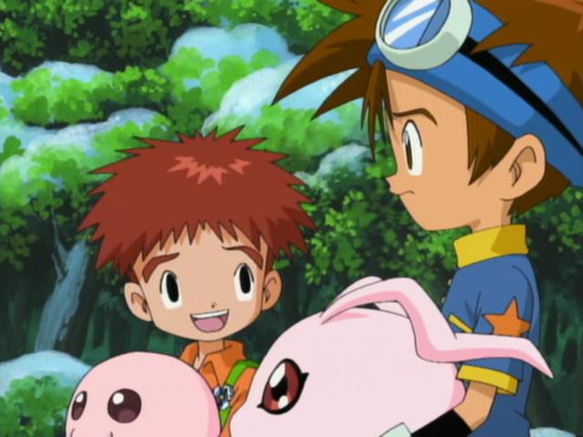 Qualidade Gráfica dos animes, está caindo com o tempo? CapturaEcra-DigimonAdventureEpisode29-XvidDVDRipMXRavi-13