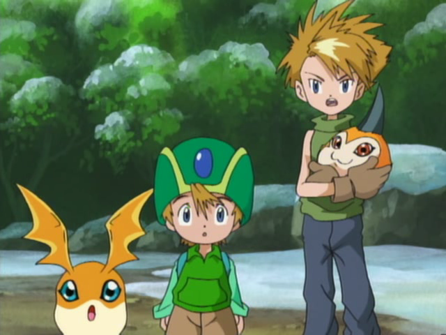 Qualidade Gráfica dos animes, está caindo com o tempo? CapturaEcra-DigimonAdventureEpisode29-XvidDVDRipMXRavi-18