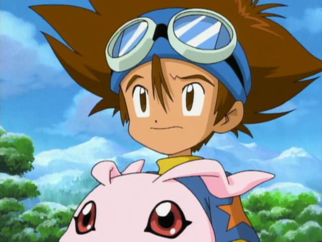 Qualidade Gráfica dos animes, está caindo com o tempo? CapturaEcra-DigimonAdventureEpisode29-XvidDVDRipMXRavi-4