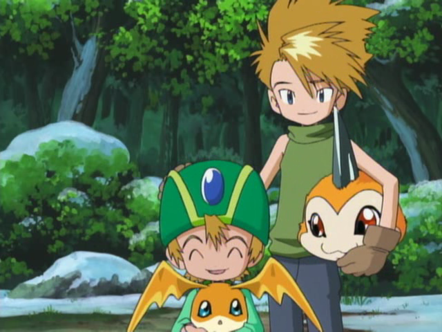 Qualidade Gráfica dos animes, está caindo com o tempo? CapturaEcra-DigimonAdventureEpisode29-XvidDVDRipMXRavi-6