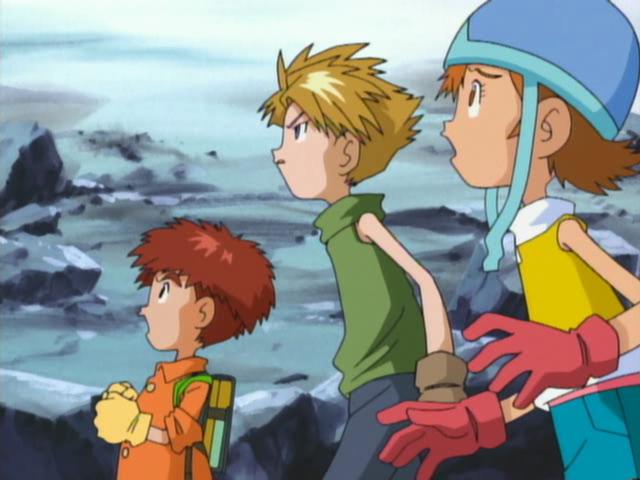 Qualidade Gráfica dos animes, está caindo com o tempo? CapturaEcra-DigimonAdventureEpisode29-XvidDVDRipMXRavi-8