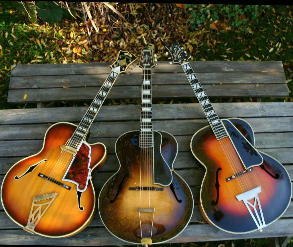 Les plus belles guitares Autumnleaves