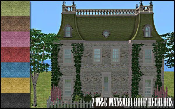Colour Sims - Page 3 MansardRoofRecolors
