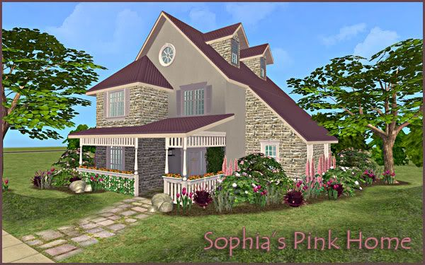 Colour Sims - Page 5 SophiasPinkHome
