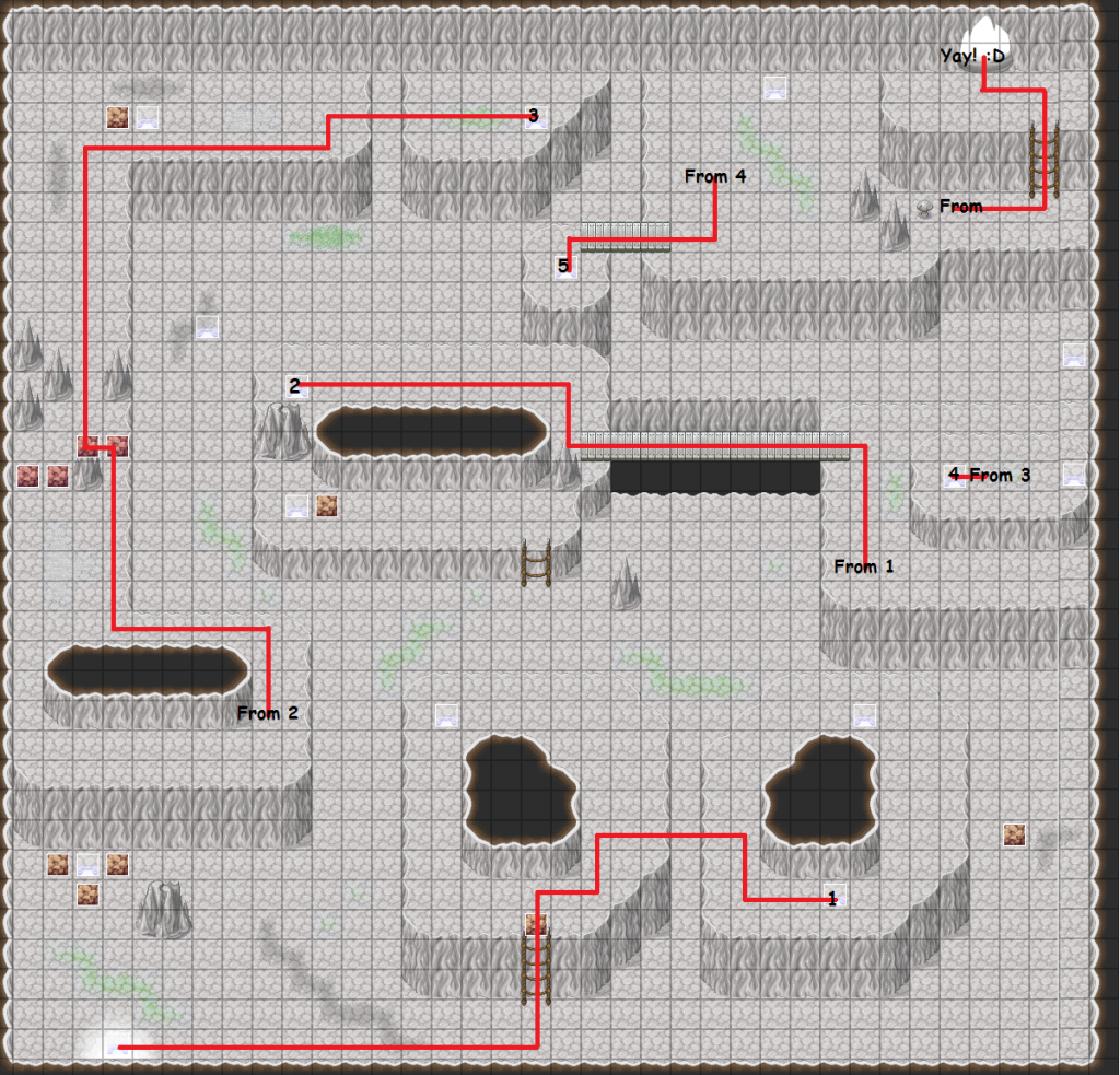[Metawe] Earth Temple Cave Map EarthTemple